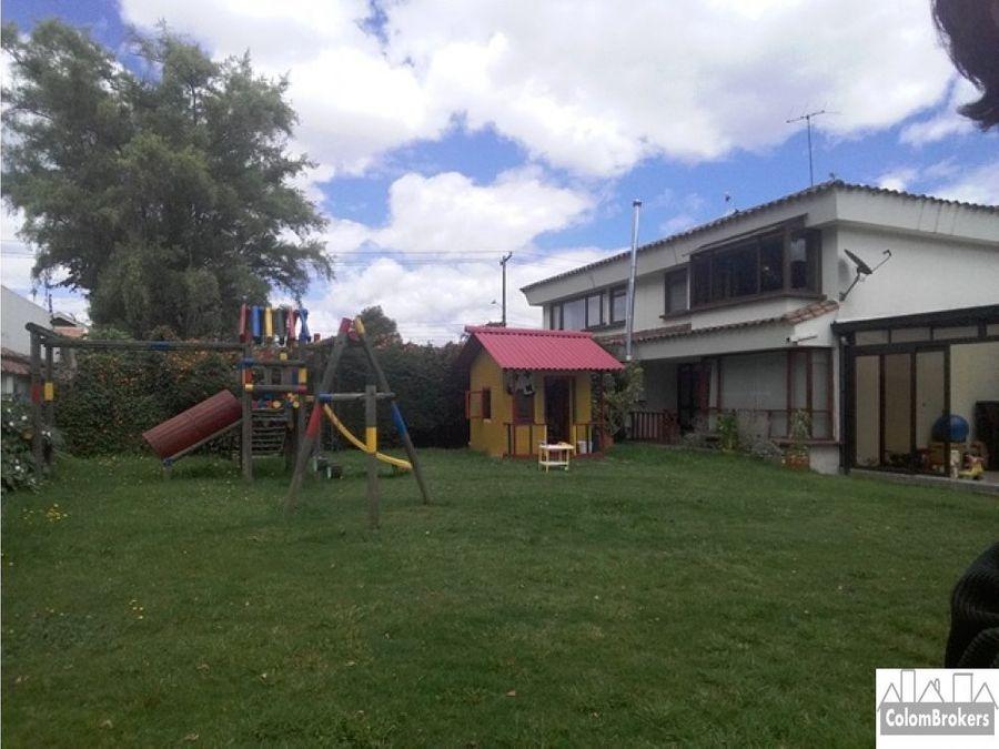 vendo casa en san jose de bavaria bogota