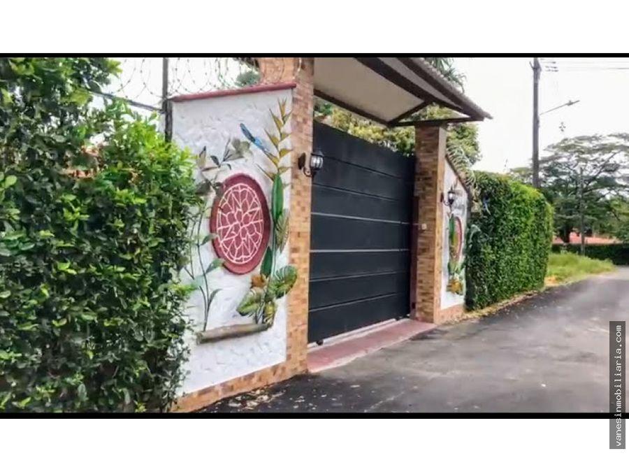 casa campestre para la venta vereda apiay vcio