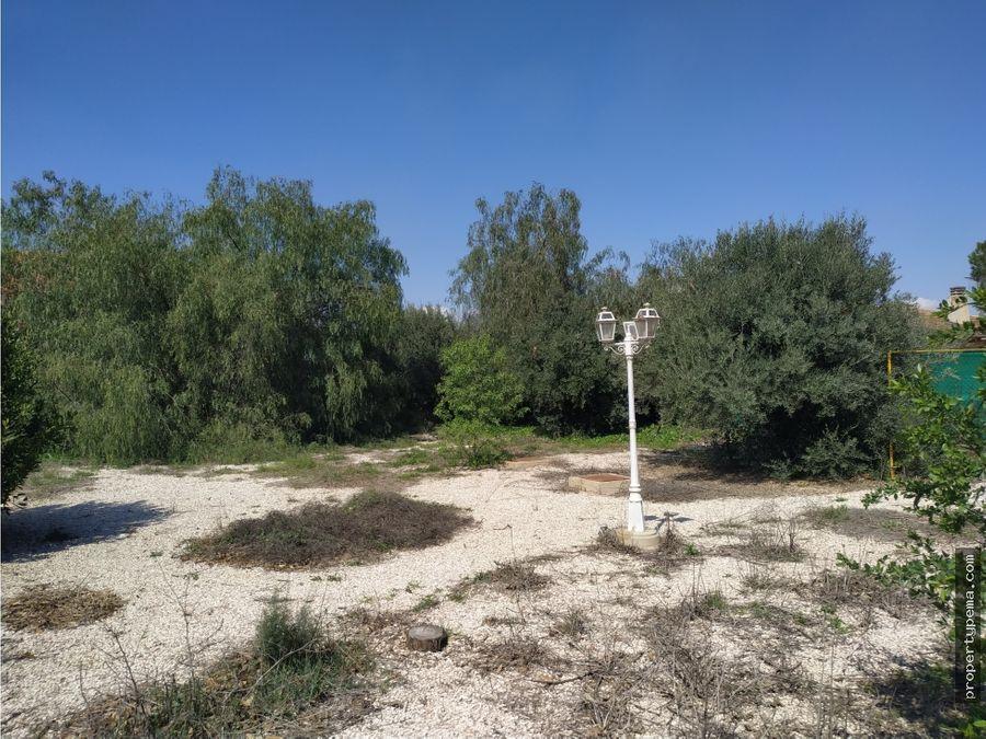 chalet en fuente alamo