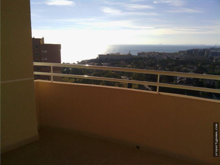atico con vistas al mar