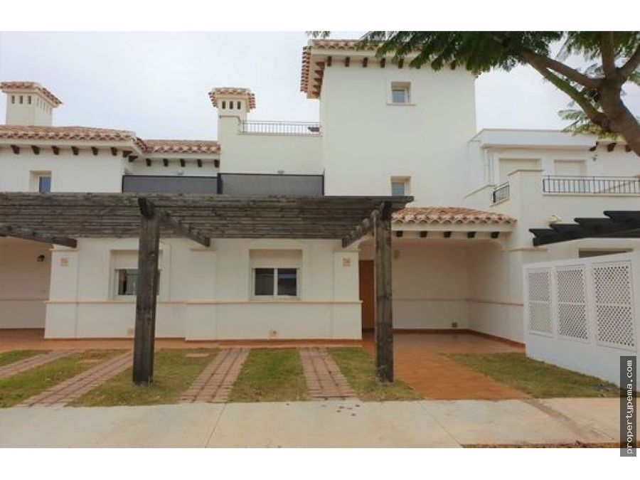 chalet en urbanizacion mar menor golf