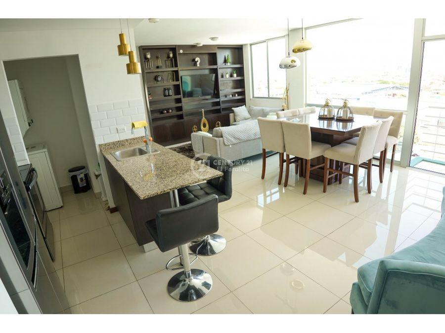 alquiler de apartamento amueblado en san jose