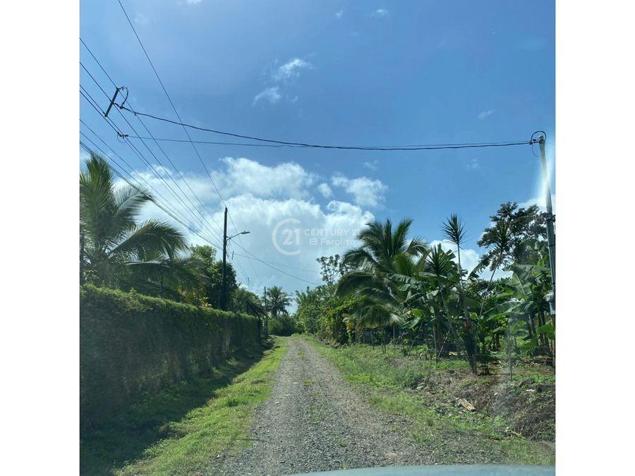 venta de terreno san ramon de alajuela