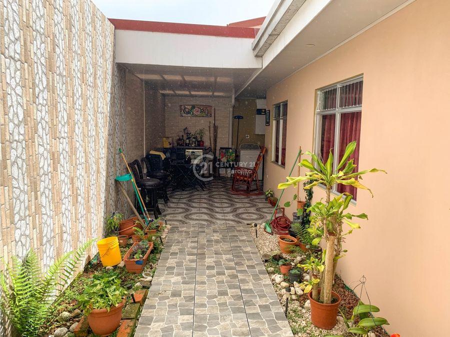 venta de casa de una planta en coronado