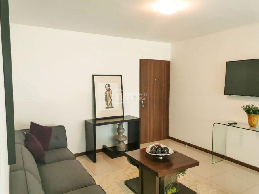 alquiler de apartamento amueblado en cariari de heredia