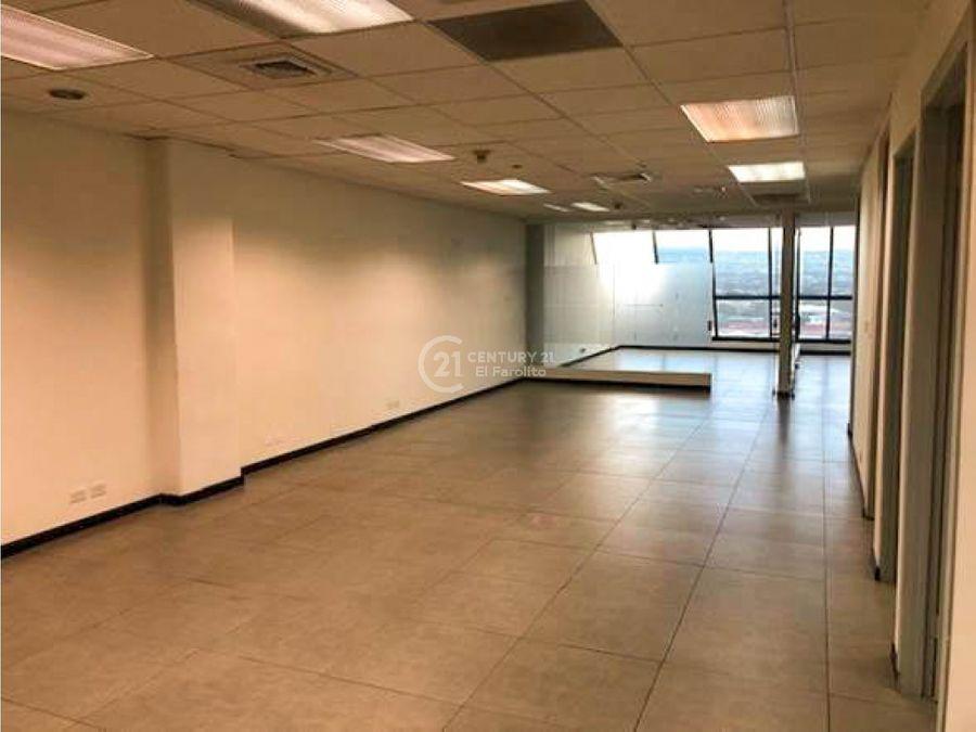 alquiler de oficina en san jose