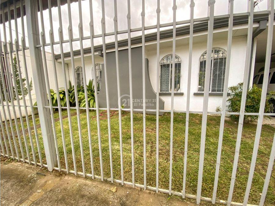 venta de casa en barrio la guaria moravia