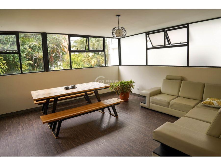 alquiler o venta de apartamento amueblado en barrio escalante