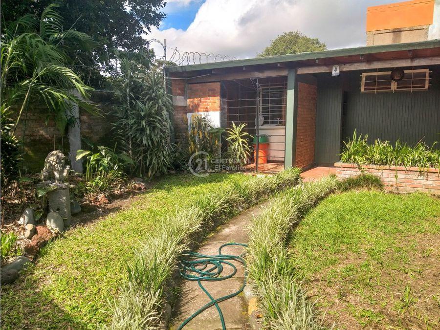venta de casa remodelada con uso mixto san jose
