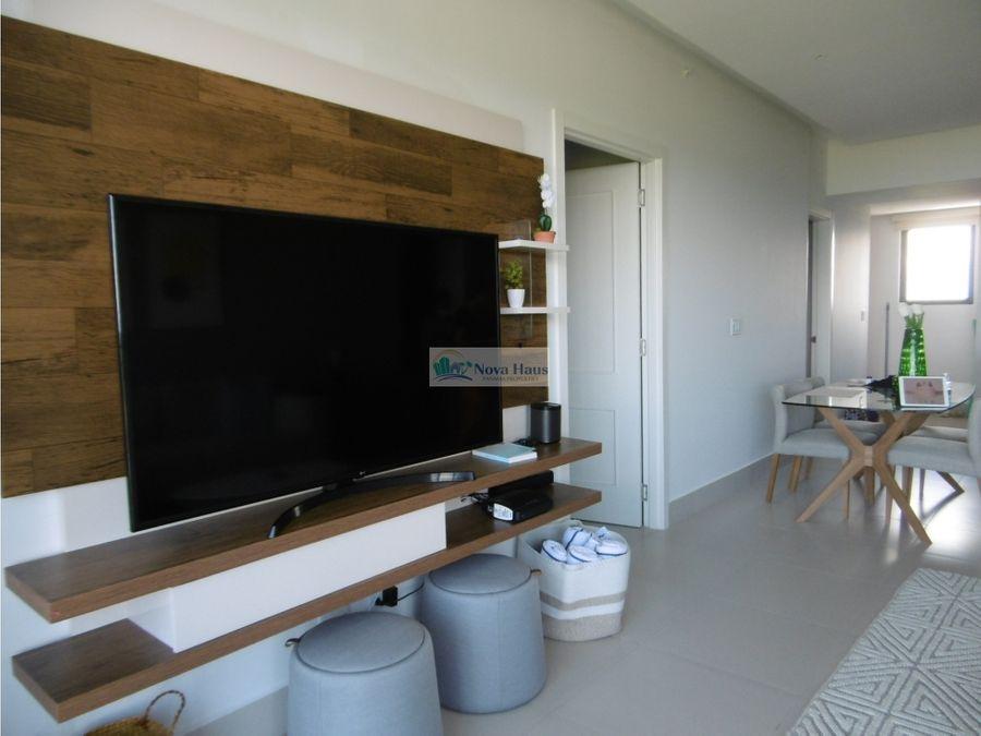 se vende hermoso apartamento de playa frente al mar punta caelo