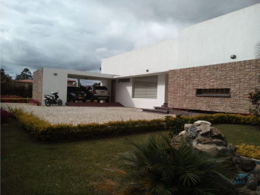 casa en venta en llano grande rionegro