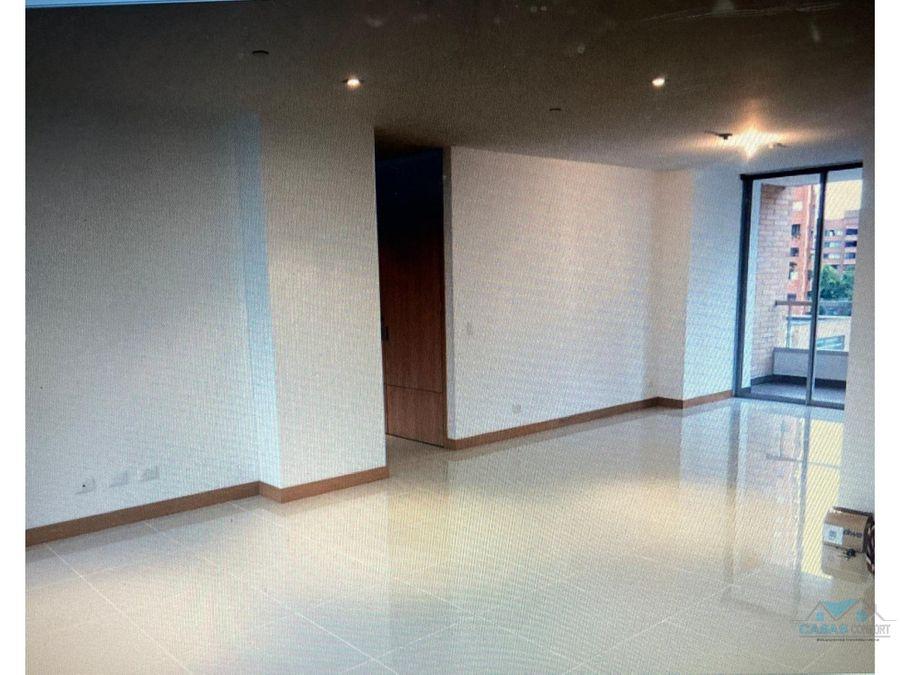 apartamento en venta en poblado loma de los parra