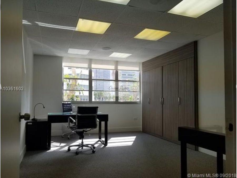 vendo hermosa oficina en miami