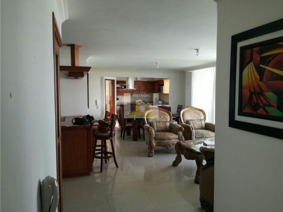 rento excelente apartamento amoblado en pereira
