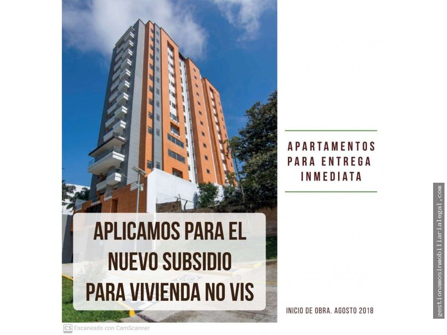 apartamentos para la venta