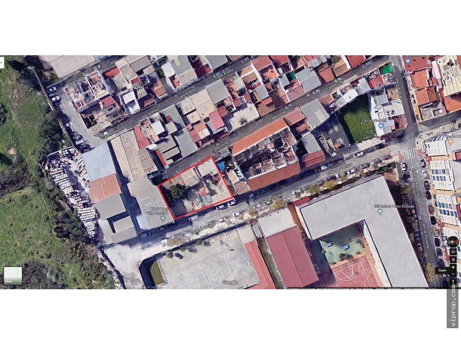 parcela en calle elche malaga