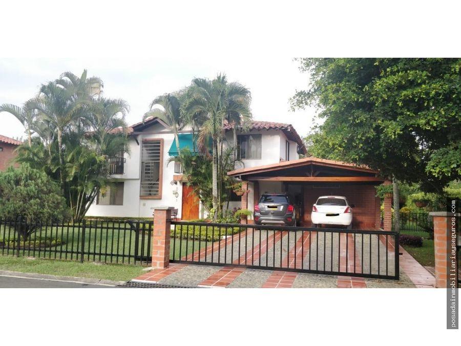 casa campestre barrio pance condominio
