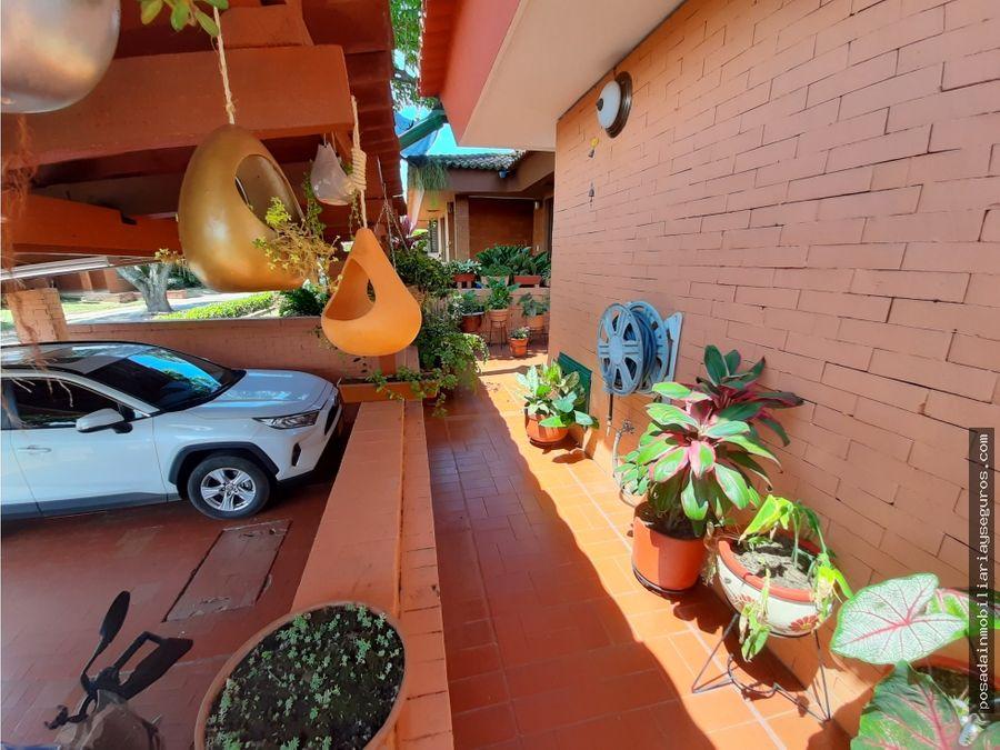 vendo casa campestre sur cali ciudad jardin