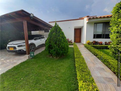 vendo casa campestre un piso sector la morada jamundi
