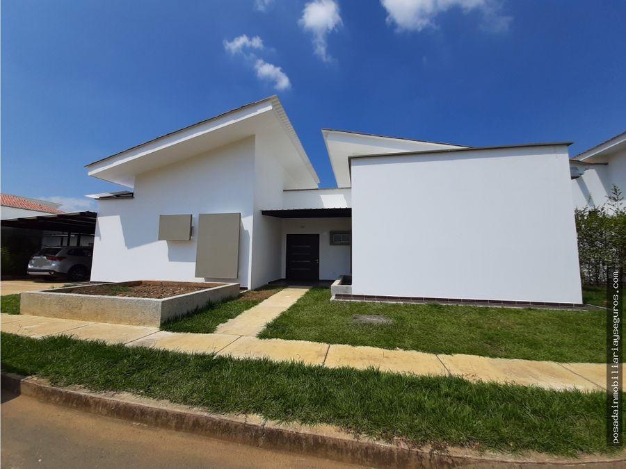 venta casa sur cali condominio campestre jamundi