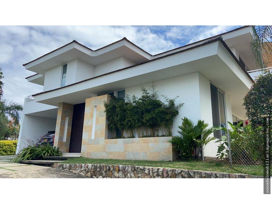 venta casa sur cali condominio en alto pance