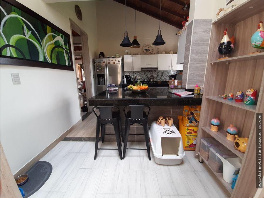 venta casa campestre un piso