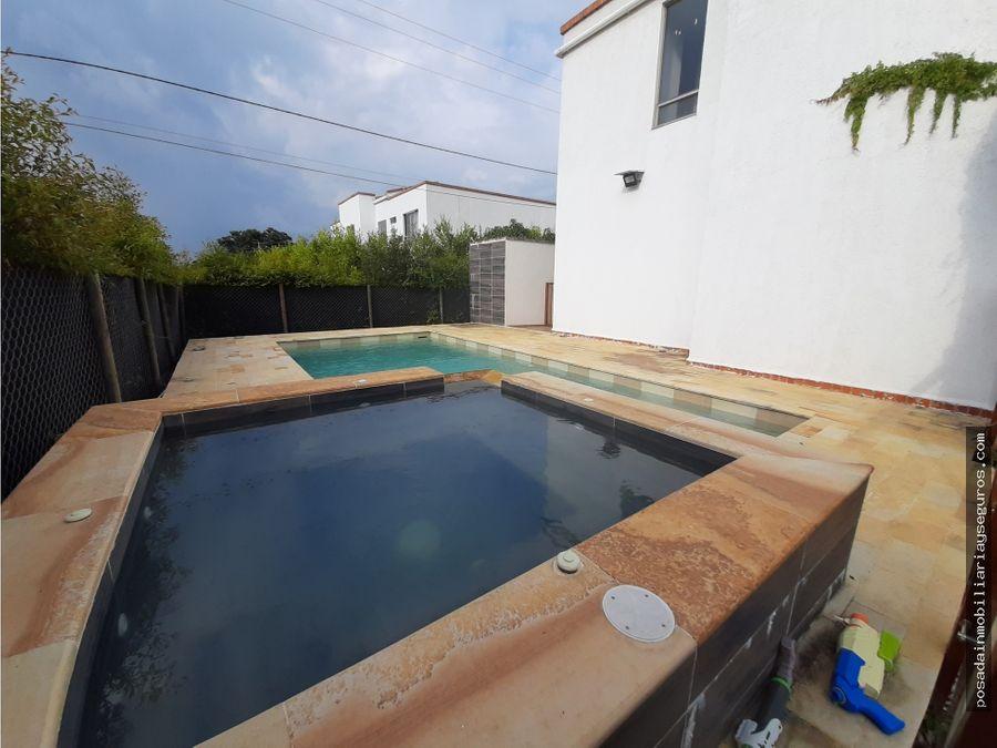 venta casa campestre en condominio jamundi