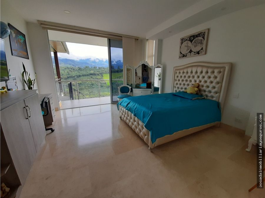 venta hermosa casa campestre en armenia