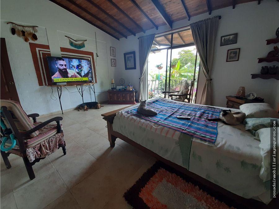 venta casa campestre un piso en quindio