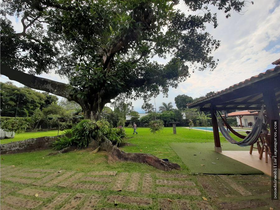 venta casa campestre condominio la morada jamundi