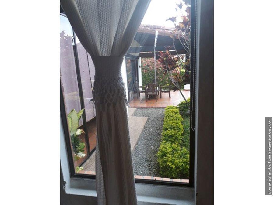 vendo casa campestre una planta armenia quindio