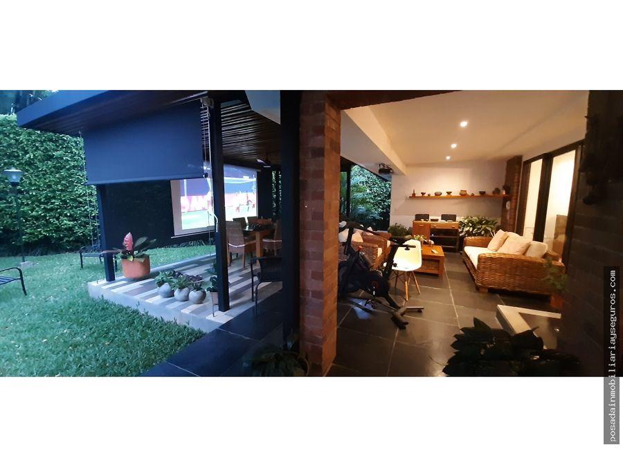 venta casa campestre sector pance
