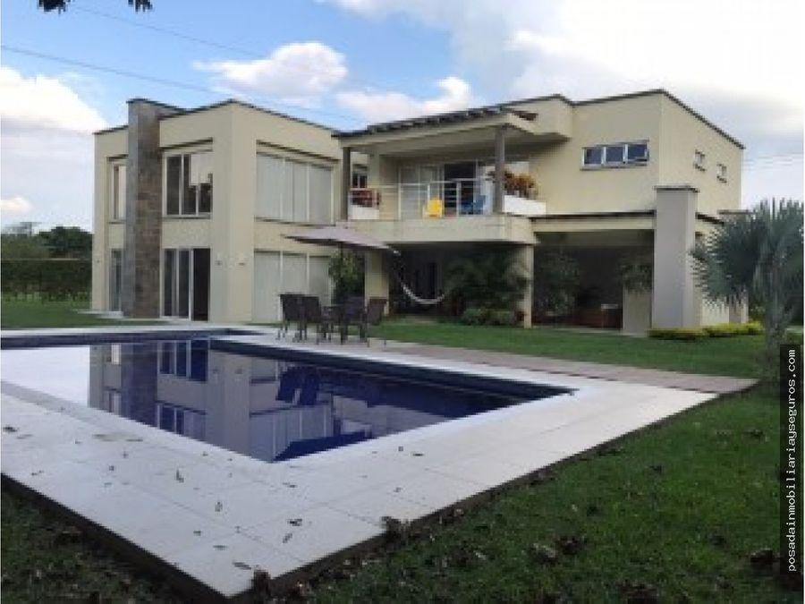 venta casa campestre jamundi condominio