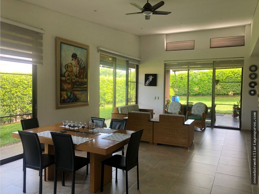 venta casa campestre armenia de un piso sector eden