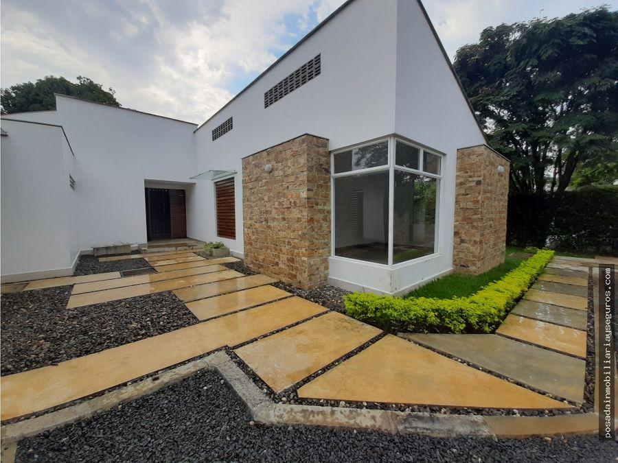 vendo hermosa casa campestre arquitectura bioclimatica