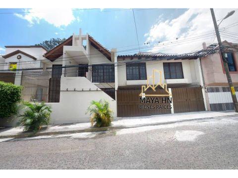 se vende casa en la residencial lomas del guiarro el triangulo