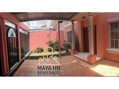 se alquila casa en res la hacienda tegucigalpa
