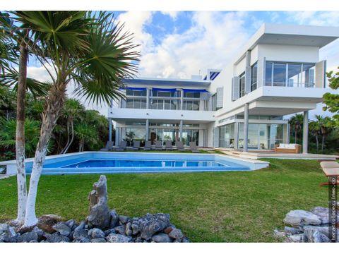 villa en punta sur akumal vista al mar