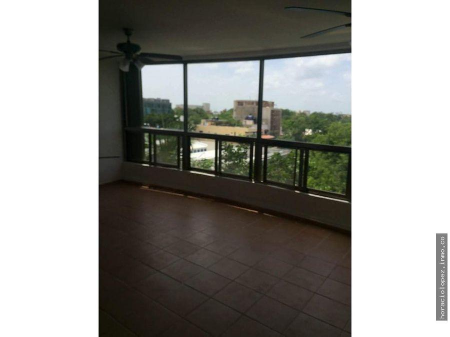 departamento sin muebles frente a centro maya