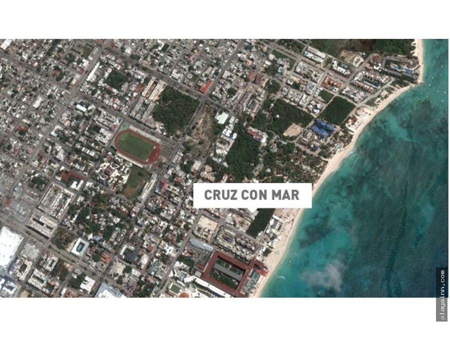 cruz con mar departamentos de playa