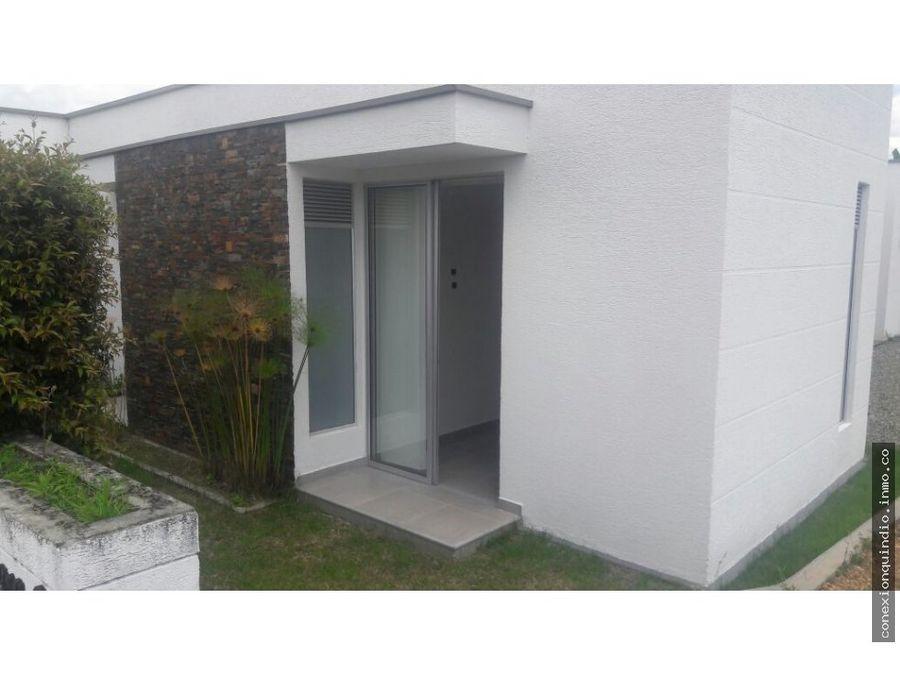 venta casa campestre via el caimo quindio