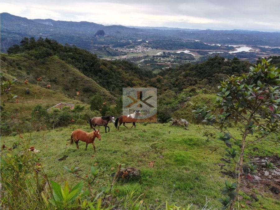 se vende finca turistica en guatape antioquia