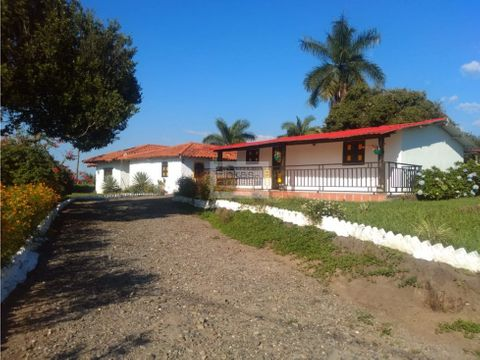 se vende finca hotel quimbaya vereda trocaderos