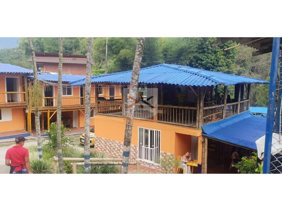 se vende finca hotel en rio verde
