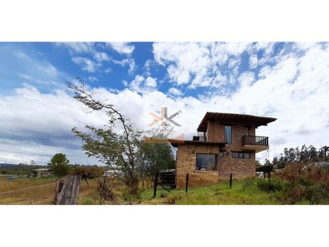se vende casa campestre en villa de leyva