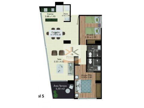 se vende derecho de apartamento sector norte armenia