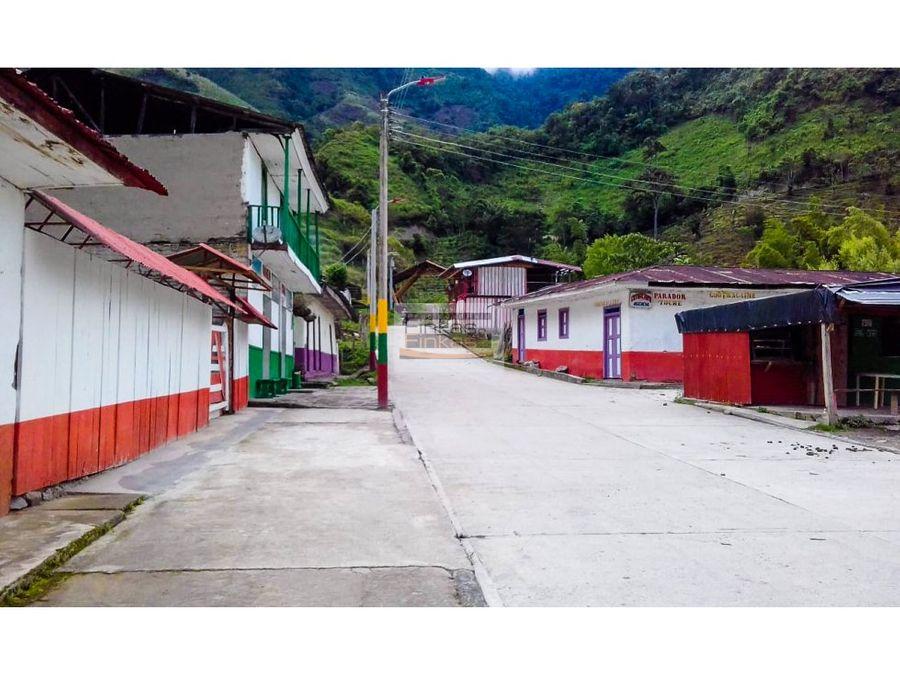 se vende finca en toche cajamarca tolima