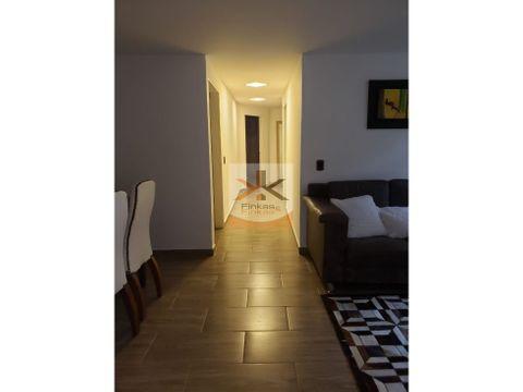se vende apartamento en conjunto cerrado armenia