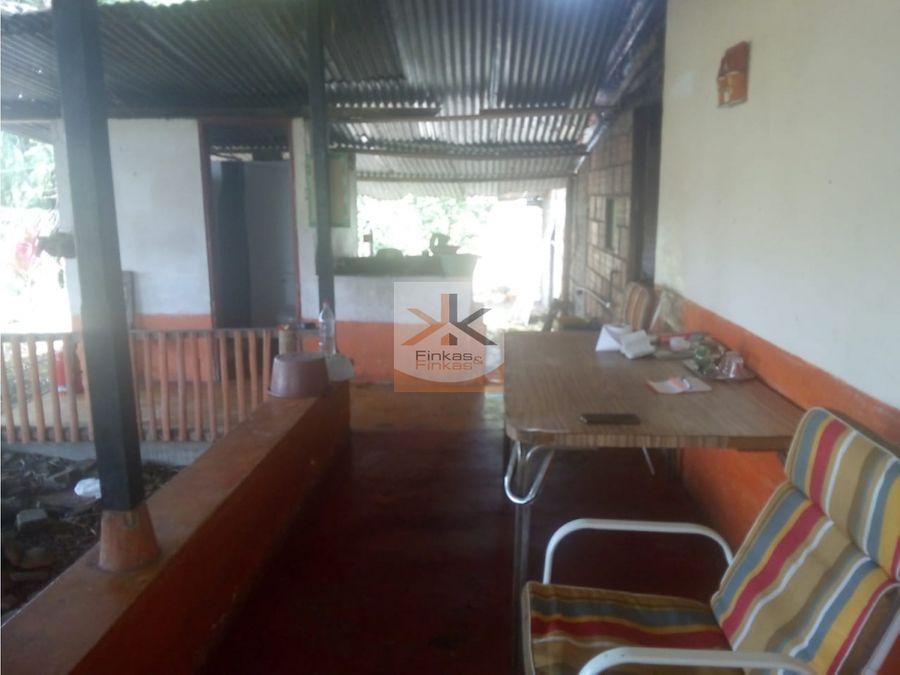 se vende finca entre filandia quimbaya