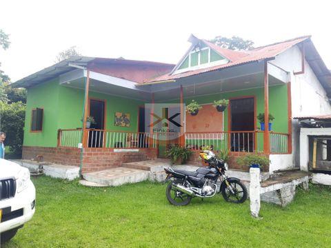 se vende casa campestre en hojas anchas armenia